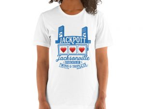 Short-Sleeve Unisex T-Shirt – JACKPOTT Hearts