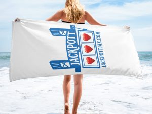JACKPOTT Beach Towel