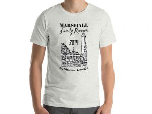 Marshall Family Reunion Short-Sleeve Unisex T-Shirt – Dark Ink