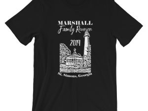 Marshall Family Reunion Short-Sleeve Unisex T-Shirt White Text